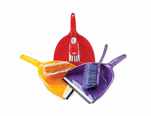 Dustpan & Broom-Hand